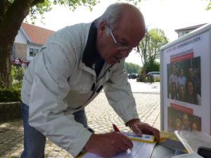 Vielen Dank an Uwe Bote für seine Unterstützung von AKTIV FÜR BARSINGHAUSEN