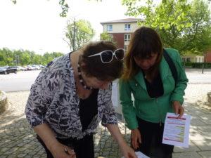 Vielen Dank Gerheide Knüttel für die Unterstützung von AKTIV FÜR BARSINGHAUSEN