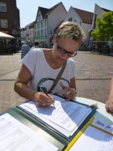 Vielen Dank Daniela Finnigan für die Unterstützung von AKTIV FÜR BARSINGHAUSEN