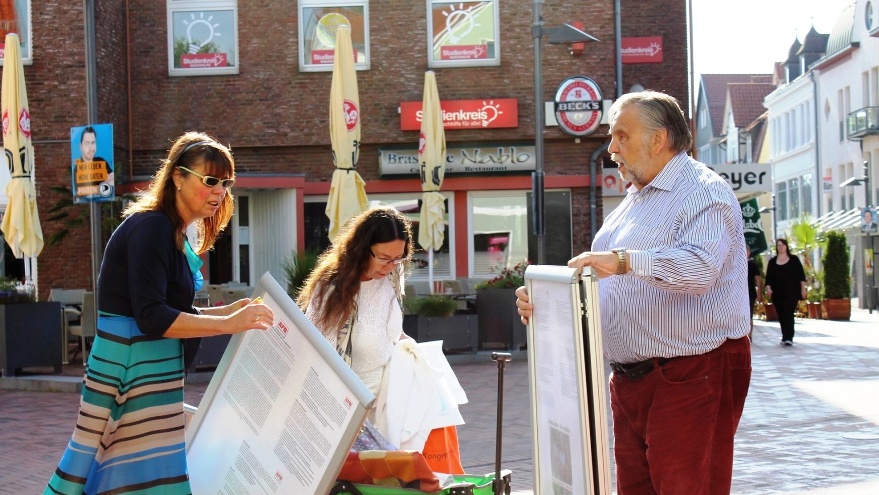 Einladung zum Infostand in Egestorf