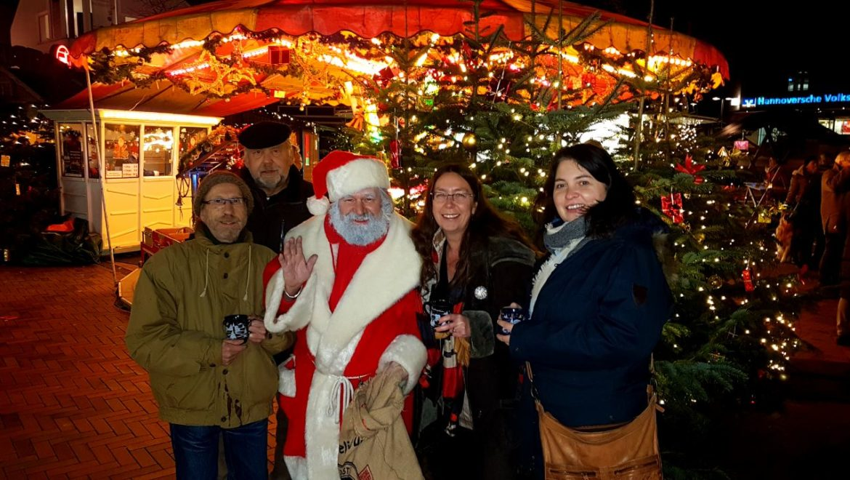 Besuch im Weihnachtdorf
