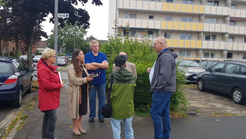 Parkplatznöte in der Hans-Böckler-Straße