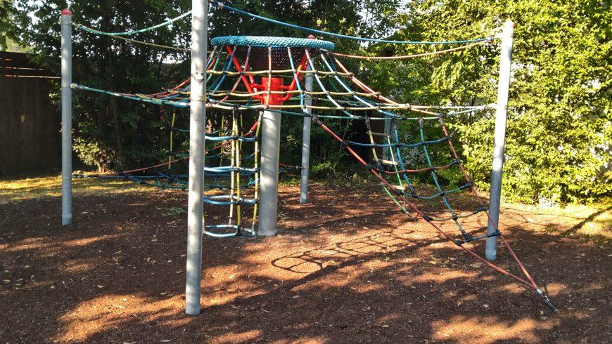 Spielplatz für den Stadtteilpark